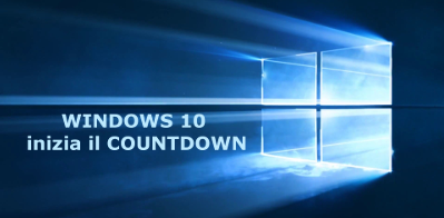 windows 10 inizia il countdown