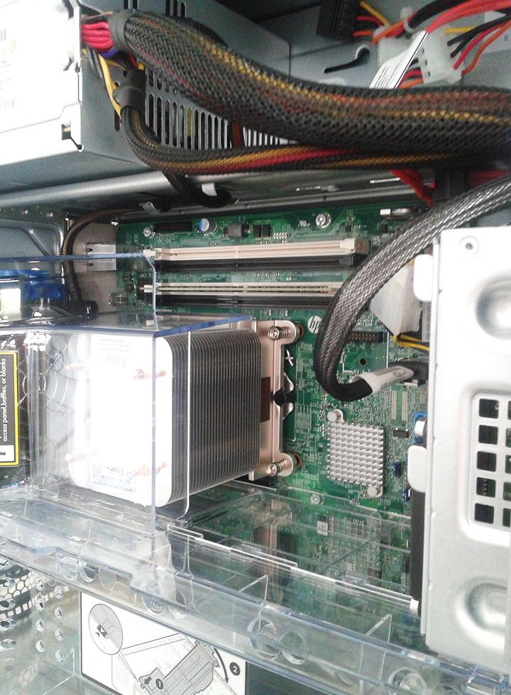 Server_HP_ML110_configurazione